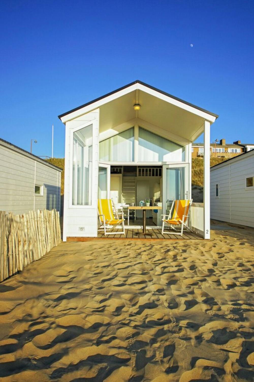 Strandbungalow de watering, optimaal genieten vanaf uw veranda